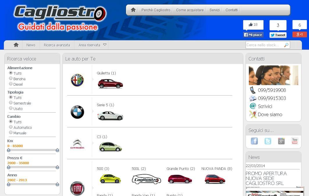 www.cagliostroauto.it